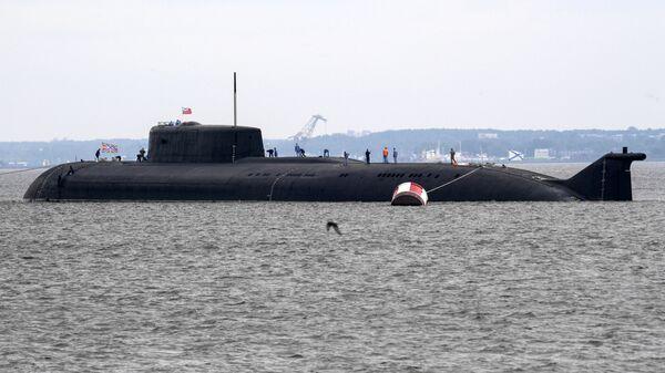 Атомный подводный ракетоносный крейсер Орел, архивное фото - Sputnik Latvija