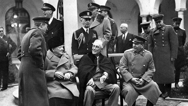 Ялтинская (Крымская) конференция союзных держав, 1945 год - Sputnik Латвия