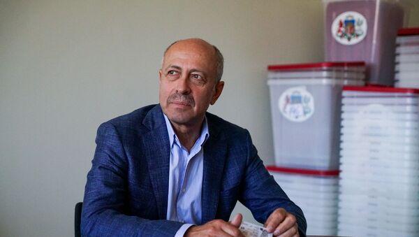 Олег Буров, лидер списка от партии Честь служить Риге на выборах в Рижскую думу - Sputnik Latvija