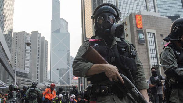 Протесты в Гонконге - Sputnik Latvija