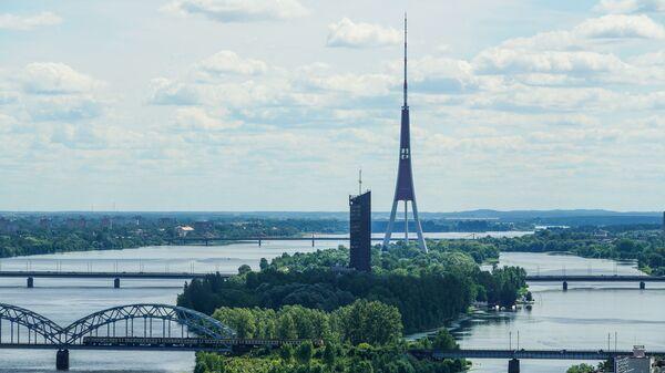 Экскурсия по рижскому Дому печати перед реконструкцией - Sputnik Латвия