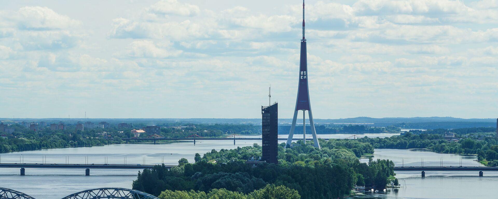 Экскурсия по рижскому Дому печати перед реконструкцией - Sputnik Латвия, 1920, 18.06.2021