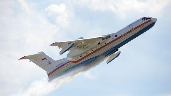 Российский самолет-амфибия (летающая лодка) БЕ-200 Альтаир - Sputnik Latvija