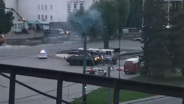 Захват заложников в Луцке: Зеленский выполнил требование злоумышленника - Sputnik Латвия