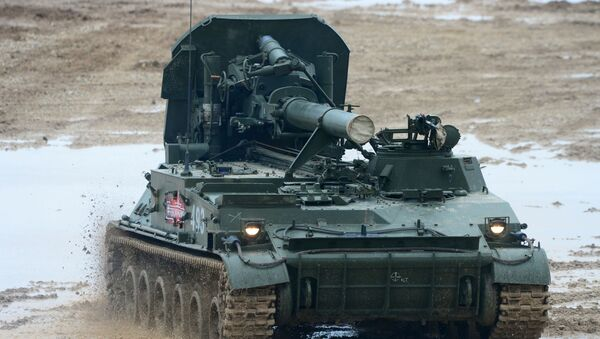 240-мм самоходный миномет 2С4 Тюльпан - Sputnik Latvija