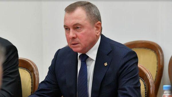 Министр иностранных дел Владимир Макей - Sputnik Latvija