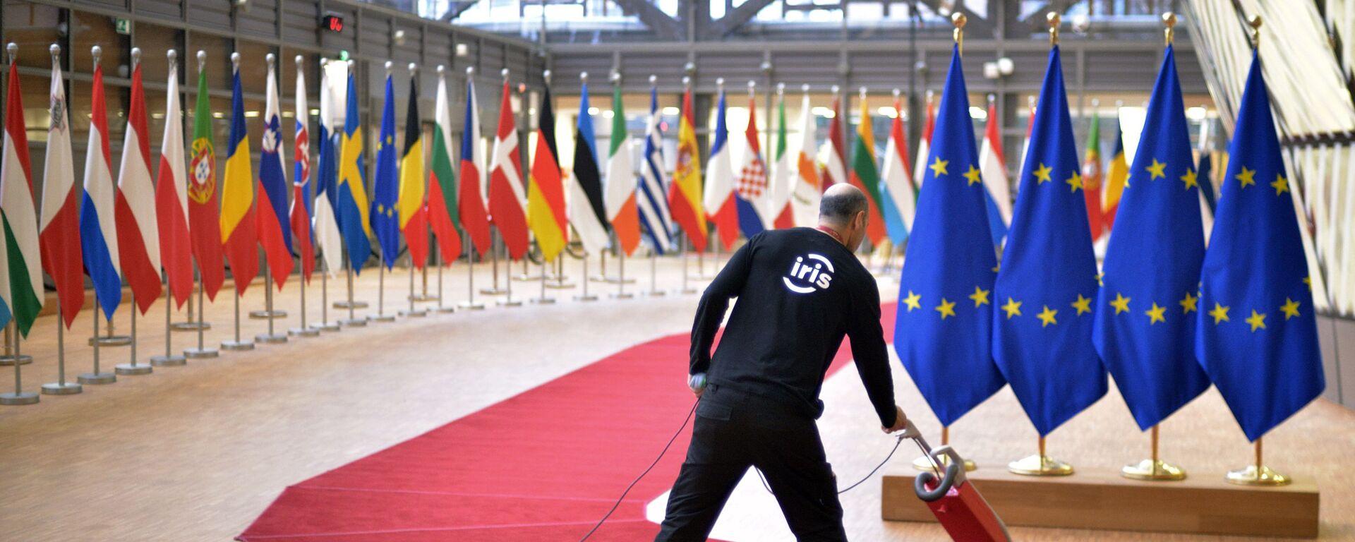 Саммит ЕС в Брюсселе - Sputnik Latvija, 1920, 15.06.2021