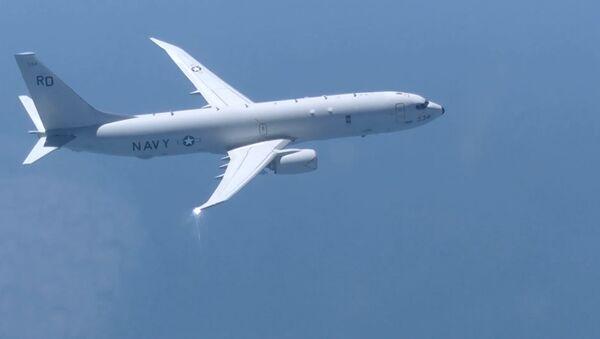 Посейдон на прицеле: российский истребитель перехватил борт разведки США - Sputnik Латвия
