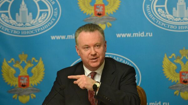 Постоянный представитель России при ОБСЕ Александр Лукашевич - Sputnik Latvija