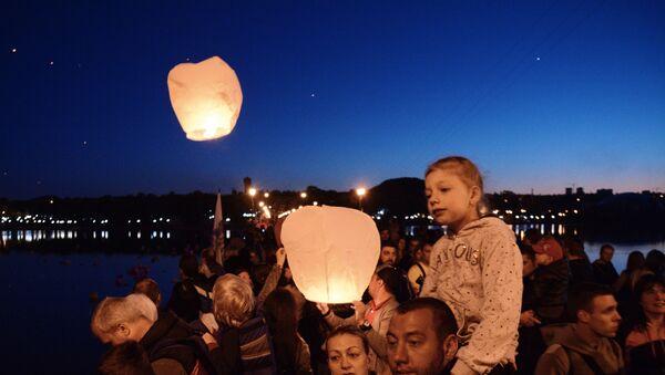 Летающие фонарики - Sputnik Latvija