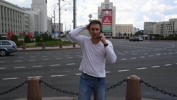 Корреспондент Sputnik Евгений Олейник - Sputnik Латвия