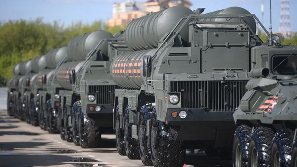 Зенитные ракетные комплексы С-400 Триумф - Sputnik Latvija