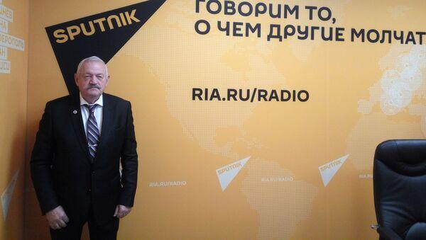 Военный политолог, преподаватель Военного университета Минобороны РФ, кандидат военных наук Владимир Карякин - Sputnik Латвия