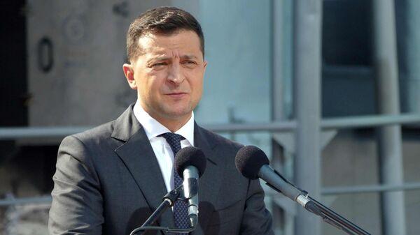 Президент Украины Владимир Зеленский - Sputnik Латвия