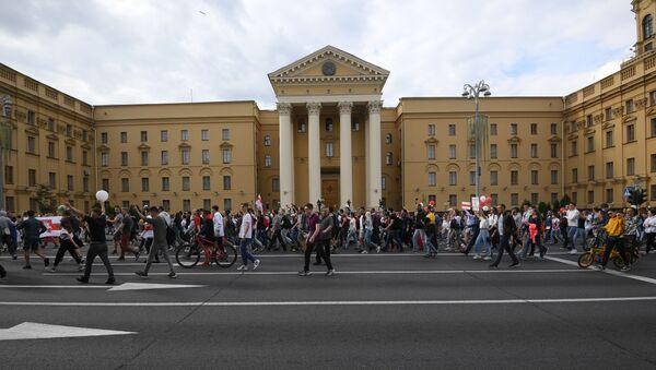 Протесты в Минске - Sputnik Латвия