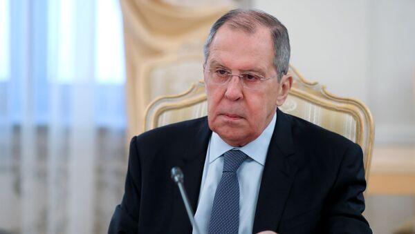 Министр иностранных дел РФ Сергей Лавров - Sputnik Latvija