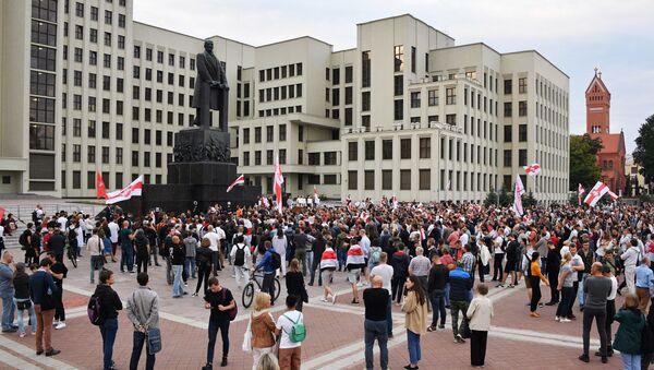 Акция протеста в Минске - Sputnik Латвия