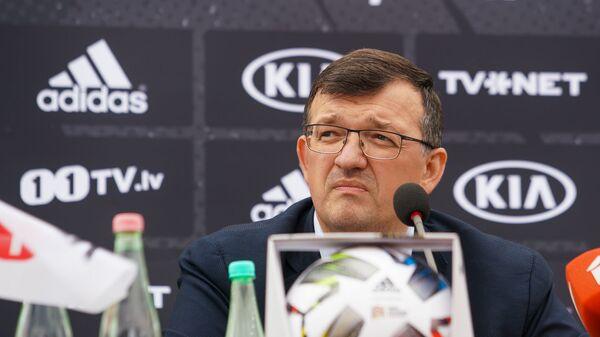 Пресс-конференция и презентация новой формы сборной Латвии по футболу - Sputnik Латвия