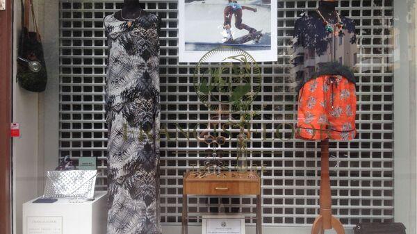 Витрина магазина винтажной одежды - Sputnik Латвия