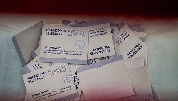 Выборы в Рижскую думу 2020 - Sputnik Латвия