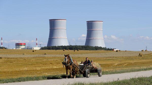 Белорусская атомная электростанция - Sputnik Латвия