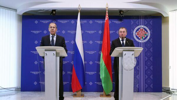 Рабочий визит главы МИД РФ С. Лаврова в Белоруссию - Sputnik Латвия