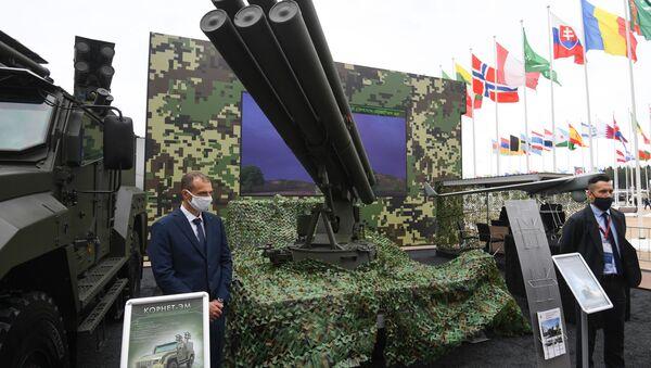 Противотанковый ракетный комплекс Гермес - Sputnik Latvija