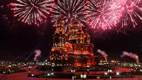 Показательное представление фестиваля Спасская башня - Sputnik Latvija