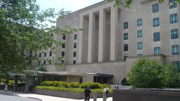 Здание штаб-квартиры Госдепартамента США, архивное фото - Sputnik Латвия