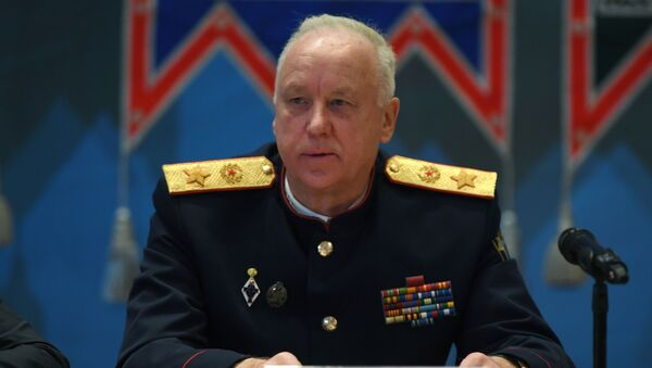 Председатель Следственного комитета РФ Александр Бастрыкин  - Sputnik Latvija