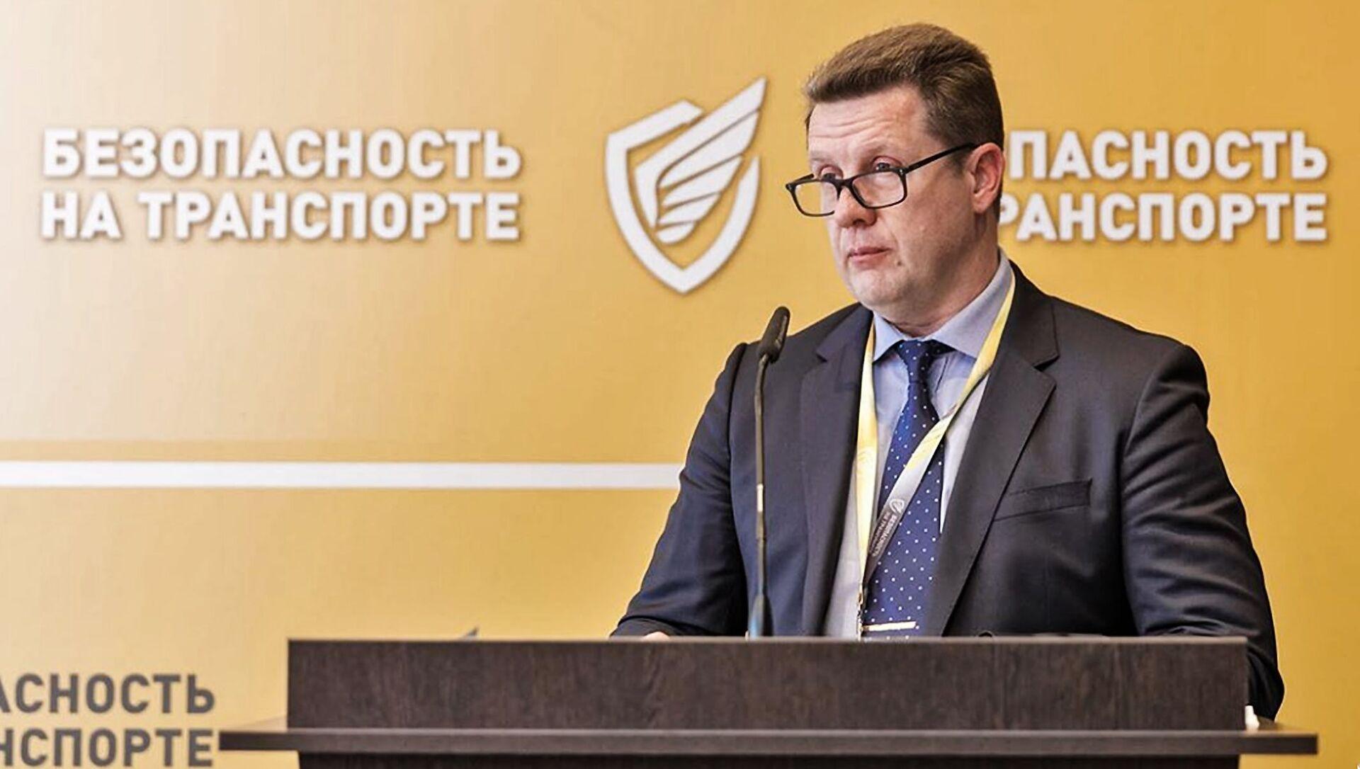 Сергей Храпач, председатель правления ассоциации Межрегионавтотранс - Sputnik Латвия, 1920, 01.04.2021