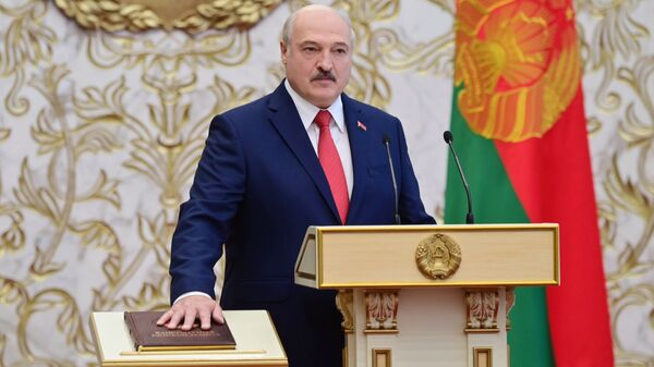 Вступление А. Лукашенко в должность президента Белоруссии - Sputnik Latvija