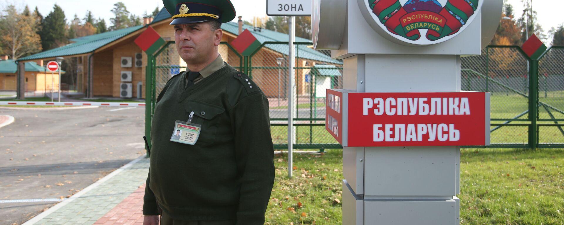 Пограничный переход между Беларусью и Польшей Переров - Sputnik Латвия, 1920, 15.06.2021