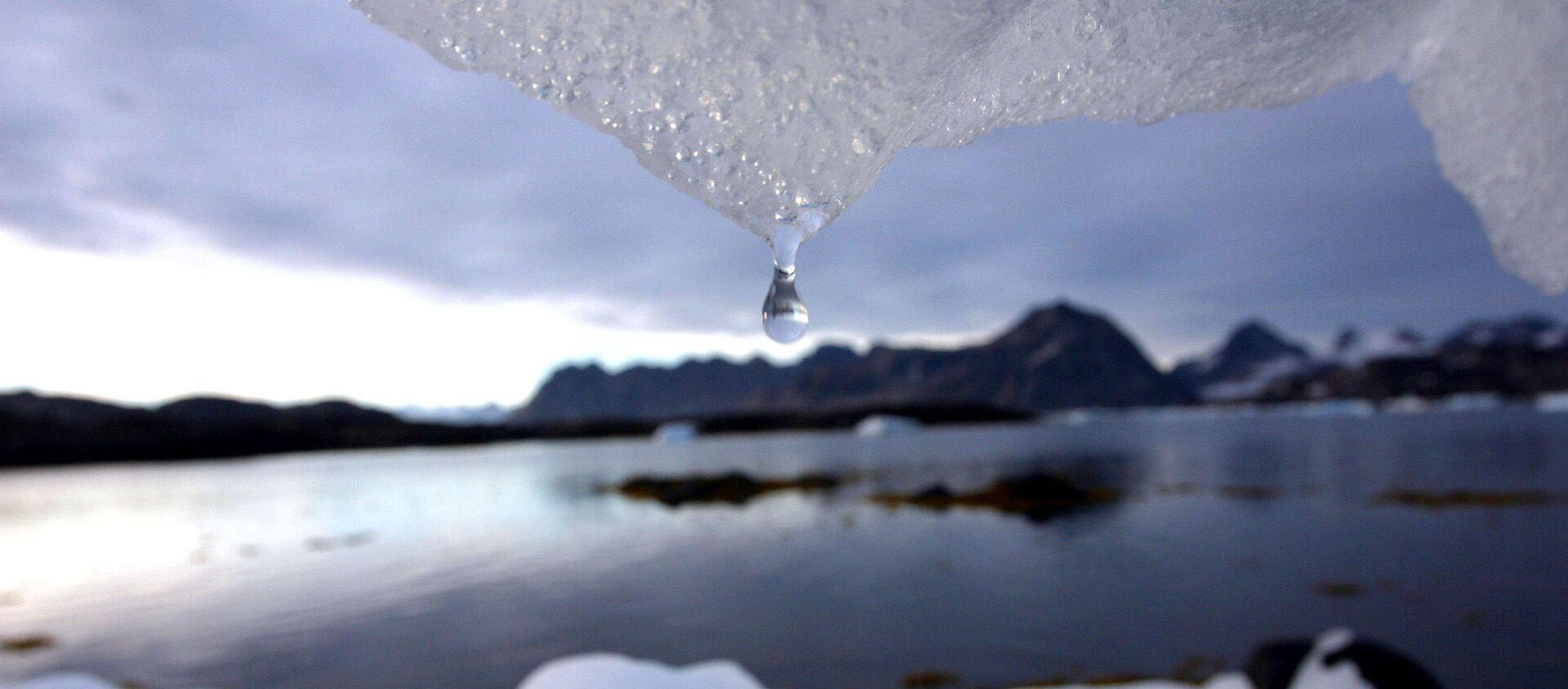Тающие ледники Гренландии - Sputnik Latvija, 1920, 21.11.2020