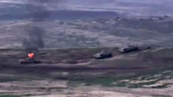 Военный конфликт в Карабахе - Sputnik Latvija