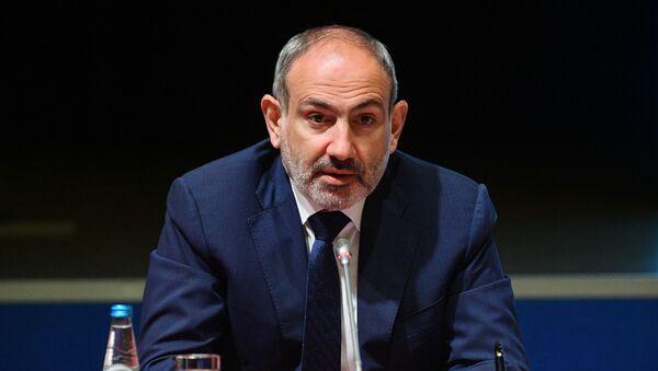 Премьер-министр Армении Никол Пашинян - Sputnik Latvija