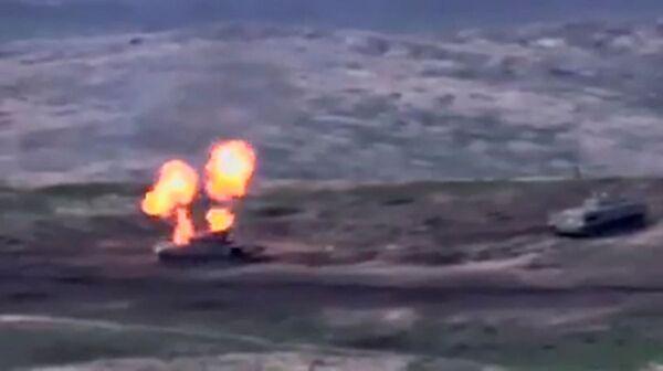 Боевые действия в Нагорном Карабахе - Sputnik Латвия