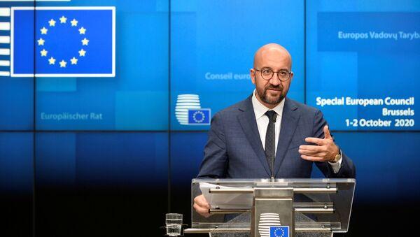 Глава Евросовета Шарль Мишель - Sputnik Latvija