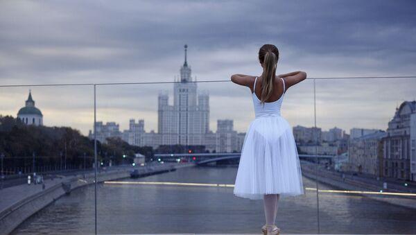 Открытие выставки Балет и архитектура в Совете Европы в Страсбурге - Sputnik Латвия
