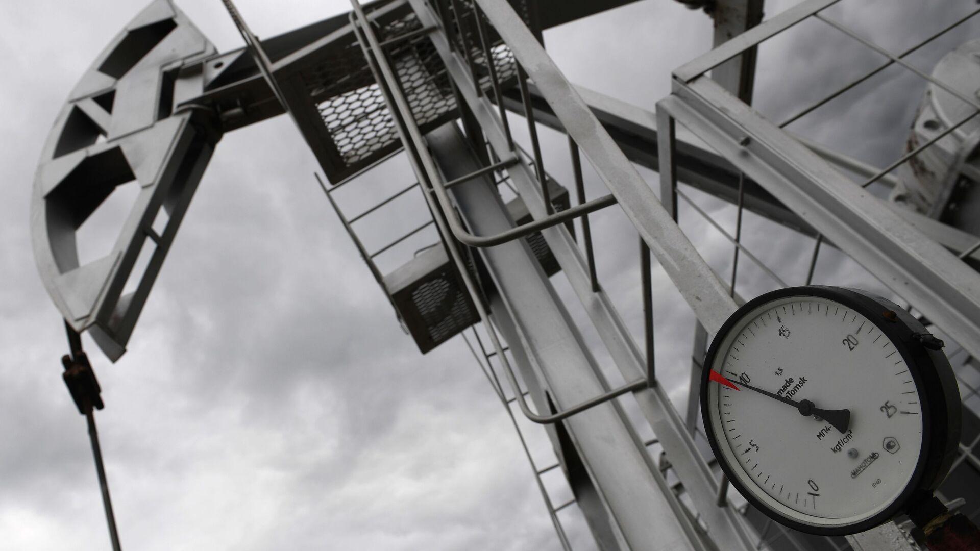 Нефтяной станок-качалка - Sputnik Latvija, 1920, 24.03.2021