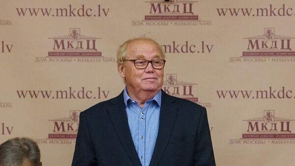 Председатель Общереспубликанского общества ветеранов Владимир Норвинд - Sputnik Латвия