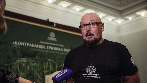Исторический консультант Центра подводных исследований Русского географического общества Андрей Лукошков - Sputnik Латвия