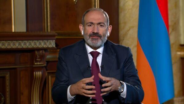 Пашинян: планы Баку и Анкары на блицкриг в Карабахе провалились - Sputnik Латвия
