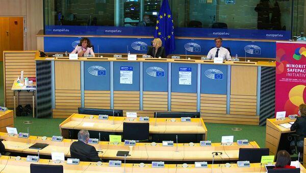 Слушания по панъевропейской гражданской инициативе Спасательный пакет для меньшинств - Sputnik Латвия