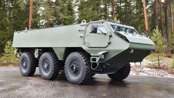 Финский бронетранспортёр Patria 6х6 - Sputnik Latvija