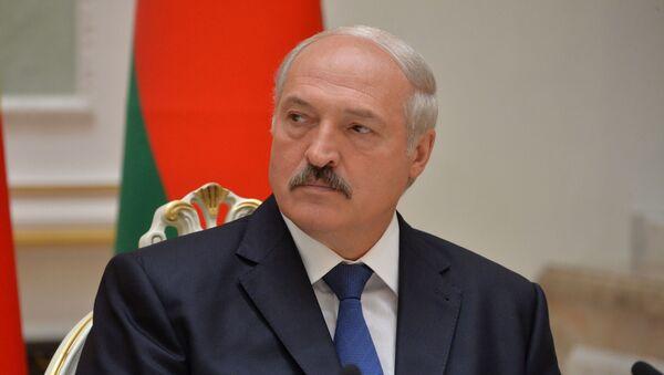 Президент Беларуси Александр Лукашенко  - Sputnik Латвия