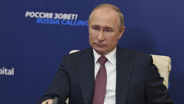 Путин оценил предложение Лукашенко изменить Конституцию Беларуси - Sputnik Латвия
