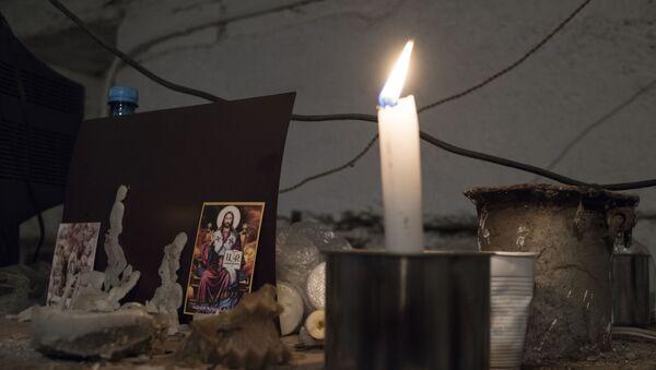 Горящая свеча - Sputnik Латвия