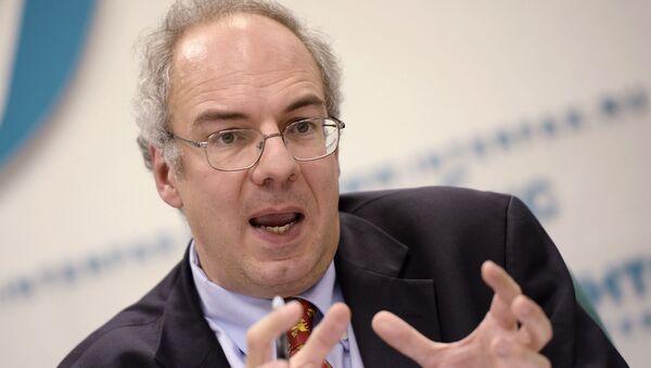 Глава миссии-советник Европейского управления МВФ Антонио Спилимберго  - Sputnik Latvija