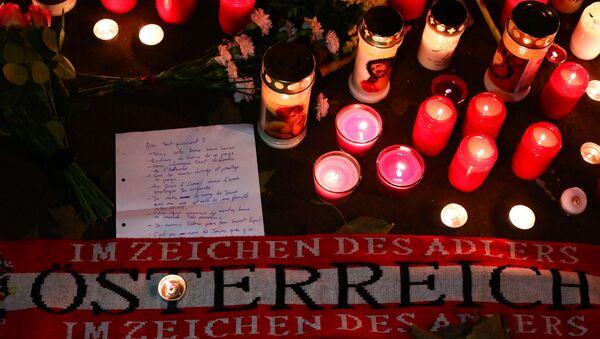 Террористический акт в Вене - Sputnik Латвия